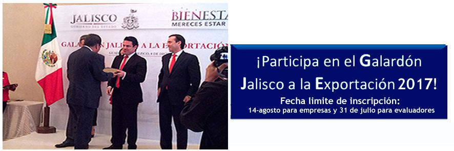 Resultado de imagen para imagen del Galardón Jalisco a la Exportación,